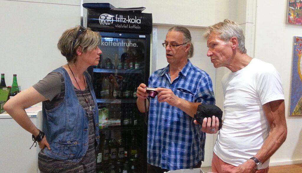 Martina Pütz, Dieter Rammlmair und Dietmar Becker.