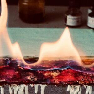 Encaustic Burn